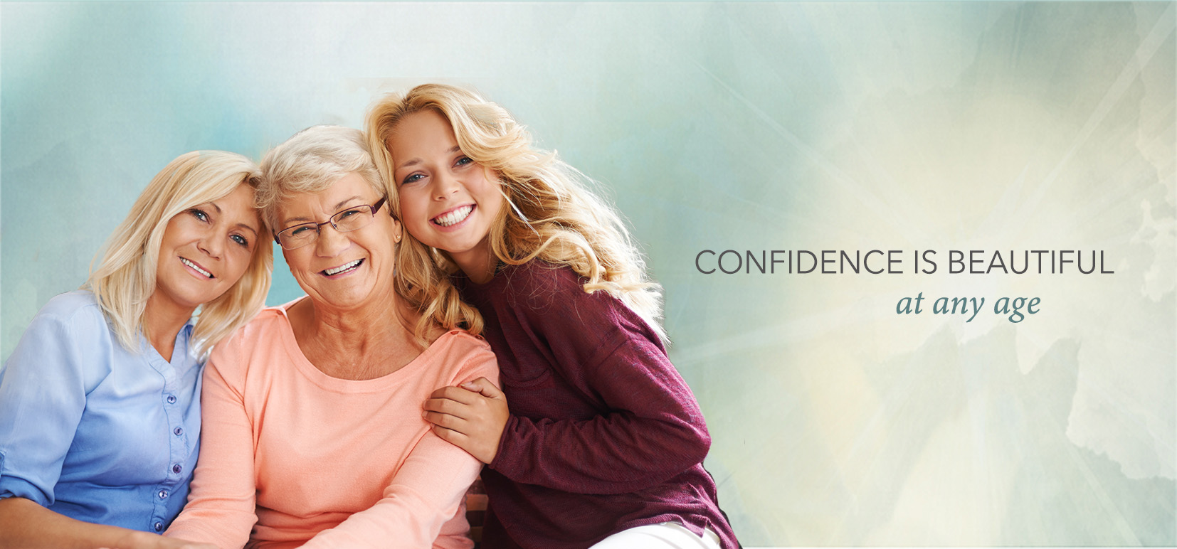 confidence is beautiful at any age