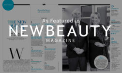 Eileen and Dr. Lambeth featured in New Beauty